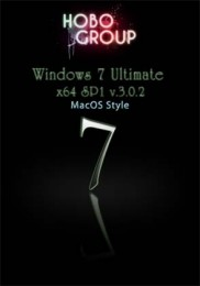 Windows 7 Ultimate x64 SP1 by HoBo-Group v.3.0.2 MacOS Style RUS Скачать торрент