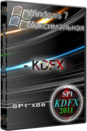 Windows 7 Максимальная KDFX SP1 (x86) [REBORN - Full, Clear, Live CD] (2011/RUS)