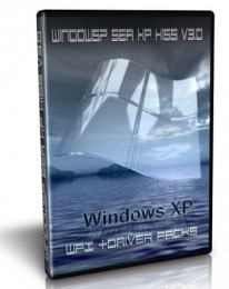 Windows XP SP3 Sea Kiss v3.4 +WPI +Driver Packs (2011)