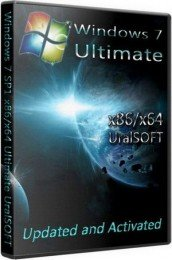 Windows 7 Ultimate UralSOFT Updated and activated 6.1.7601 SP1 (x86+x64) [RUS][2011]
