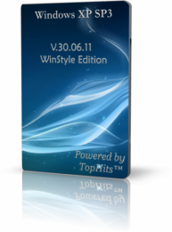 Windows XP SP3 TopHits.ws™ V.30.06.11 WinStyle Edition