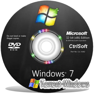 Microsoft Windows 7 AIO SP1 CtrlSoft (Home Basic, Home Premium, Professional, Ultimate)