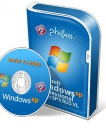 Windows XP SP3 RUS build 11-2009, ������ Windows XP SP3 RUS build 11-2009 PHILka.RU Edition ������� �������