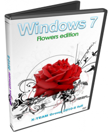 Windows 7 Ultimate X-TEAM Group 2010-6 Flowers Edition Full Скачать торрент