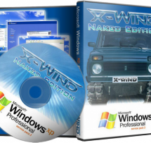Windows XP Professional SP3 (X-Wind by YikxX, Naked Edition) [чистая] (x86) [30.04.2011, RUS]