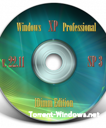 Windows XP Professional SP3 IDimm Edition Full / Lite RUS (VLK) 22.11 x86