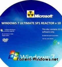 WINDOWS 7 ULTIMATE SP1 x86 REACTOR v10 [RUS][2011]