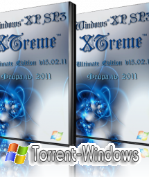 Windows® XP Sp3 XTreme™ Ultimate Edition v15.02.11 (Февраль 2011 г.) + DriverPacks (SATA/RAID)