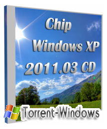 Chip Windows XP 2011.03 CD (x86) [2011, RU]
