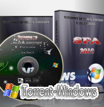Windows XP SP3 SPA XP BLACK EDITION 11.11.10[RUS]