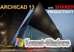 Graphisoft Archicad v13.3000 INT RUS x86+x64 + Patch + Учебный курс (2009)