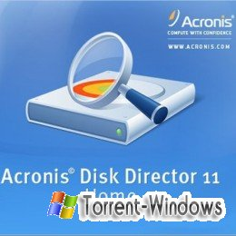 Acronis disk director 11 home торрент скачать.