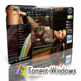 Стеклянные темы для Windows7 / Full Glass theme for Windows7 (2010) PC
