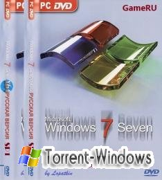 Windows 7 Ultimate SP1 x86-x64 GameRU (2011) [RUS]