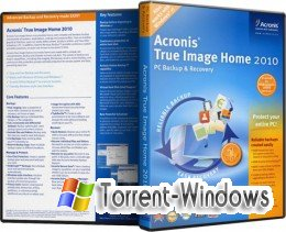Acronis True Image Home 2010 13 Build 6053 + Addons + BootCD - Русская версия (2010)