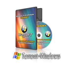Windows 7x86 SP1 Ultimate UralSOFT (v.6.08) [2011)[ Rus]