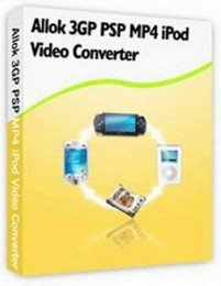 Allok 3GP PSP MP4 iPod Video Converter 5.1.0821 (2009)