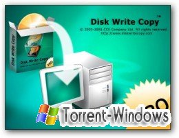 Disk Write Copy Professional Edition 1.0 Build 2549