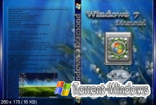 Windows 7 Diamond Spring Design(x86)