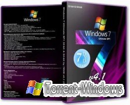 Windows 7 Ultimate SP1 32-bit & 64-bit by 7DVD v4.1