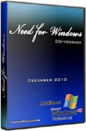 Windows XP SP3 NEED FOR Windows CD (12.2010/RUS)
