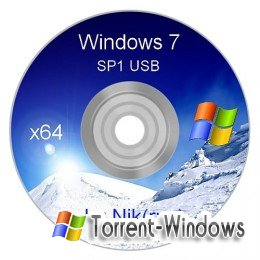 Microsoft Windows Se7en x64 SP1-ENG Professional Acronis Usb