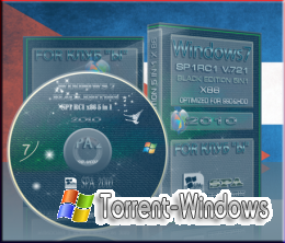 WINDOWS 7 BLACK EDITION X86 5 in 1 for SSD & HDD SP1 RC1 v.721.х86 Rus. (interface by putnik) 05.11.2010