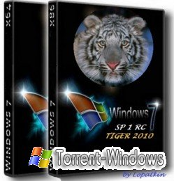 "Windows 7 Ultimate SP1 RC x86-x64 RU Code Name ""TIGER 2010"""