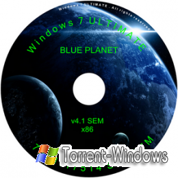 Windows 7 Ultimate SP1 Blue Planet SEM v 4.1