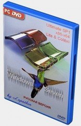 Windows 7 Ultimate SP1 x86-x64 ru-RU Lite & Colibri IE9 (4 in 1) by LBN