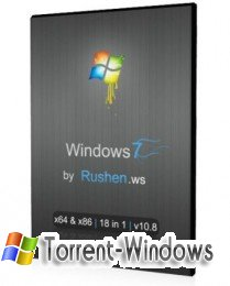 Windows 7 by Rushen v.10.8 x86+x64 (2010)