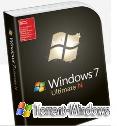 Windows 7 Ultimate N with Service Pack 1 (x86) - DVD (ENG)