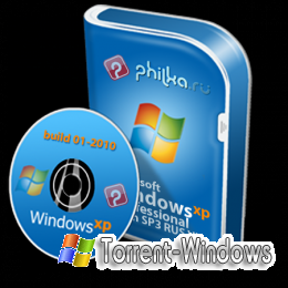 Windows XP SP3 RUS build-01-2010 PHILka.RU Edition