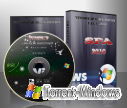 Windows XP SP3 SPA XP BLACK EDITION 10.11.10 Скачать торрент
