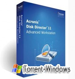 Acronis Disk Director Workstation v11.0.12077 English / GERMAN / Russian