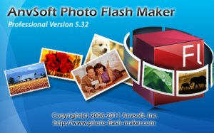AnvSoft Photo Flash Maker Pro v5.32 (2011) Rus