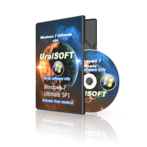 Windows 7 (x64) Ultimate UralSOFT v.4.11 Скачать торрент