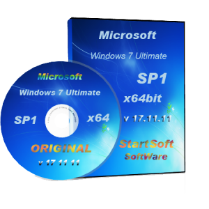 Windows 7 Ultimate SP1 Original x64bit By StartSoft v 17.11.11