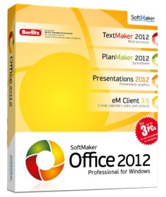 SoftMaker Office Professional 2012 (rev 654) Retail Rus