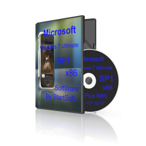 Windows 7 Ultimate SP1 Plus WPI 32bit By StartSoft v 21.12.11 [Русский]