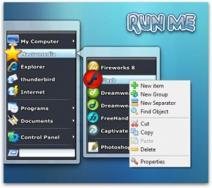 RunMe v0.9.2 + Portable + Icons [Multi/Rus]