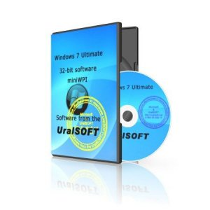 Windows 7x86 Ultimate UralSOFT+miniWPI v.6.12 (Русский)