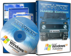 Windows XP Professional SP3 (X-Wind) by YikxX,RUS,VL,x86 [Naked Edition] (25.12.2011)
