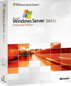 Windows Server 2003 Enterprise x86 SP2 R2 VL (Rus) [2 CD in 1]