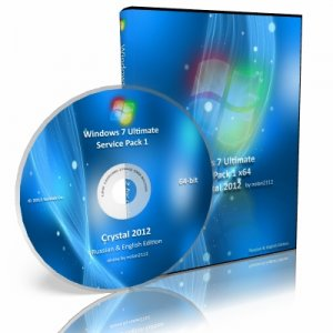 Windows 7 Ultimate SP1 x64 Crystal (2012) 6.1.7601.17514.101119-1850 (Русский)