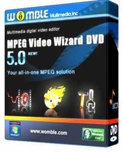 Womble MPEG Video Wizard DVD 5.0.1.100 Portable (2011) Русский
