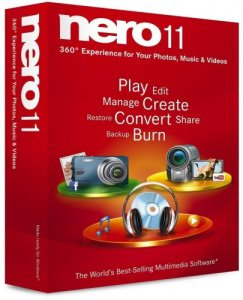 Nero Lite 11.0.15800 (Portable)(2011) RUS