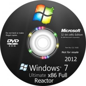 WINDOWS 7 ULTIMATE x86 FULL REACTOR (2012) Русский