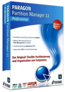 Paragon Partition Manager 11 Professional 10.0.17.13146 RUS Retail / Portable / Lite Portable / Silent install