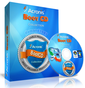 Acronis Boot CD Strelec (2012) Русский